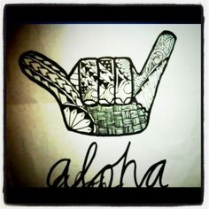 Aloha. Would love the shaka tattoo either behind my ear or on my finger