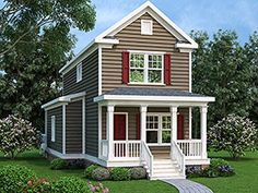 House Plan 72547 Elevation