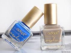 La collection Boho Spirit by Caroline x Adopt !  Vernis en teintes : Boho Blue et Boho Beige #nailpolish #vernisàongles #beautyblogger #bohospirit #npa #ontheblog #beautybloggers #beauty #beauté #makeup  #maquillage #manicure #manucure