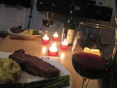 23 best Romantic dinner ideas images on Pinterest | Ideas ...