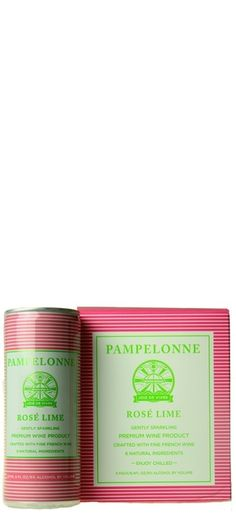 Pampelonne Rosé Lime - 4 pack