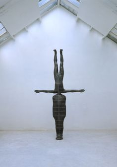 PRESENT TIME 1988 by Antony Gormley