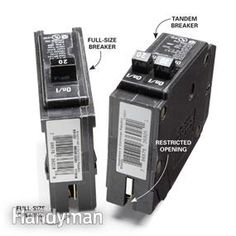add more breakers to a full fuse box tandem circuits and box rh pinterest com Fuse Box to Breaker Box Fuses and Circuit Breakers
