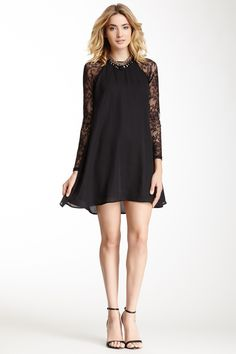 Chloe Lace Sleeve Tunic on HauteLook