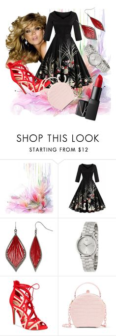 """Untitled #79"" by fadilabanjic on Polyvore featuring Chanel, Mixit, Calvin Klein, ALDO, Nancy Gonzalez and NARS Cosmetics"