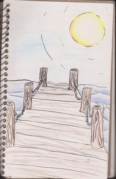 Serena Michelle: Boardwalk http://serenamichelle-art.blogspot.com/