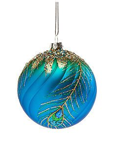 Home Accents® All That Glitters Peacock Ball Ornament #belk #holidaydecor