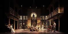 Major Barbara. Abbey Theatre. Set design by Paul O'Mahony.