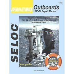 Seloc Serive Manual - Johnson/Evinrude - Inline Engines - 1990-2001 - https://www.boatpartsforless.com/shop/seloc-serive-manual-johnsonevinrude-inline-engines-1990-2001/