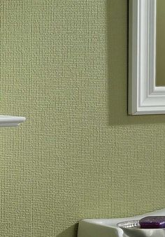 Ordinaire The Linen Paintable Wallpaper Enables You To Turn Any Room Into A Space All  Your Own