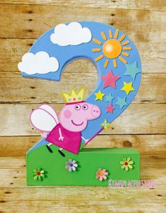 Your place to buy and sell all things handmade - Peppa Pig Party Decorations Peppa Pig Birthday Decorations Peppa Pig Birthday Decorations, Peppa Pig Birthday Cake, Peppa Pig Pinata, Peppa Pig Party Ideas, Peppa Pig Cakes, Peppa Pig Gifts, Peppa Pig Party Supplies, Ideas Party, 1st Birthday Photos