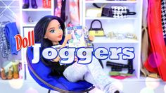 How to Make Doll Joggers - Doll Crafts - 4K