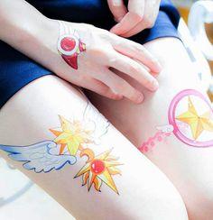 Cardcaptor Sakura Temporary Tattoos #cardcaptorsakura #ccs #anime #kawaii…