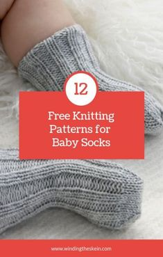 Free Knitting Patterns for Baby Socks Looking for a perfect baby gift? Check out these free knitting patterns for baby socks. Looking for a perfect baby gift? Check out these free knitting patterns for baby socks. Baby Knitting Patterns, Knitted Socks Free Pattern, Baby Booties Knitting Pattern, Love Knitting, Knitting Socks, Knitting Tutorials, Crochet Socks, Knit Socks, Knitted Slippers