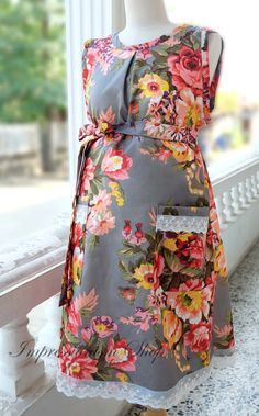 Maternity Hospital Gown Perfect Snaps for by Impressionismshop