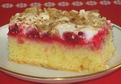 moje záľuby...: Ríbezľový zákusok Sweet Cakes, Vanilla Cake, Food And Drink, Nova