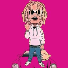 "[FREE] Lil Pump Type Beat 2017 - ""Locked Up"" 