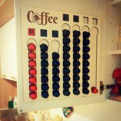 DIY Nespresso cups holder