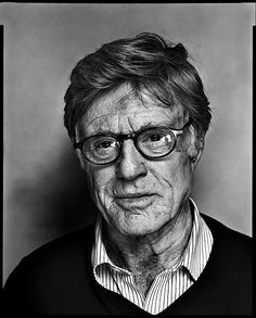 robert redford...I like seeing people age naturally. It takes courage in some industries and opting to not adjust what God gave them adds all the more to their character :-)