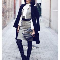 A dress with pants? Yes please 🙈 #streetstyle #fashion #fashionbook #style #imdifferent #leather #maxmara #zara #chanel #zara_international #ootdmagazine #ootd #instagood #pictureoftheday #instafashion #fashionblogger #chic #love #elanazure Photo by @skinnykidrobot