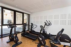 Notre salle de fitness Chateau Hotel, Architecture Classique, Le Moulin, Stationary, Gym Equipment, Spa, Collection, Fitness Studio, Workout Equipment