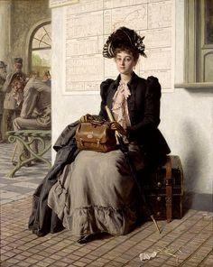 Evert Jan Boks - Dutch Painter (1838-1914)
