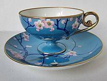 Lovely blue tea cup