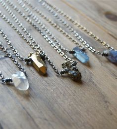 Crystal Point Necklace