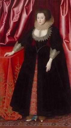 Mary, Lady Vere (1581 – 1671)?-William Larkin