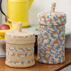 Best Free Crochet » Crochet Keepers from RedHeart.com