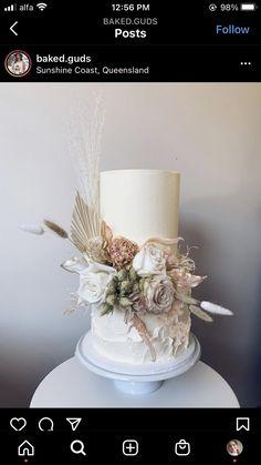 Wedding Cake Inspiration, Wedding Ideas, Mom Cake, Elderflower, Cake Decorating, Decorating Ideas, Cake Designs, Absolutely Gorgeous, Wedding Cakes