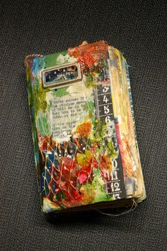 Winter art journal: Cover by 2littlewings, via Flickr