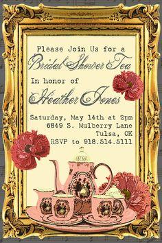 invitation tea party