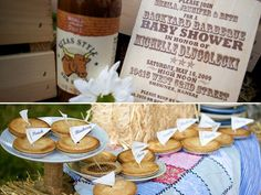 "Go Western with a warm and inviting baby shower that has ""Howdy, little guy"" written all over it."