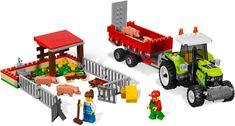 LEGO set database: wanted Lego Advent, Lego Clones, Pig Farming, Farming Ideas, Lego City Sets, City Farm, Mini Pigs, Lego Parts, Pull Toy
