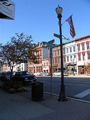 Madison, Indiana. The best in small town living. AND I get my hair done here every 3 months at the Aveda salon in downtown =D
