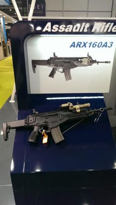 Exclusive: First Look At The New Beretta ARX-160A3