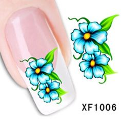 Nagelsticker water transfer XF 1006