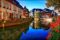 Strasbourg, Alsace, France It looks like Beauty and the Beast!!!