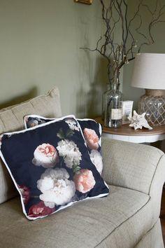 blumenprints und neue deko fürs wohnzimmer, Wohnzimmer