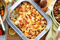 For stress-free midweek dining try this crunchy tuna and rice bake. Rice Bake Recipes, Fish Recipes, Seafood Recipes, Dinner Recipes, Cooking Recipes, Dinner Ideas, Cooking Fish, Paleo Dinner, Pork Recipes