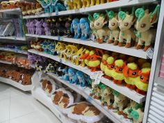 For Erris - plush Eevee Evolutions. Pokemon stuffed toys. Can't recall what he wants though. Ask me first