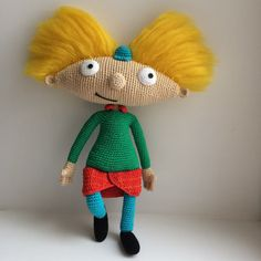 ARNOLD Arnold PDF crochet pattern This crochet pattern will instruct you on how to crochet a character of the animated film Hey Arnold! Arnold