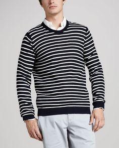 Vince Striped Cotton