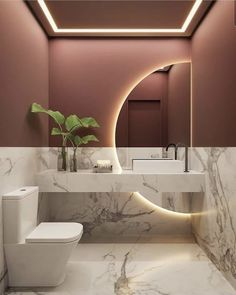 Washroom Design, Toilet Design, Bathroom Design Luxury, Modern Bathroom Design, Modern Bathrooms, Beautiful Bathrooms, Home Room Design, Dream Home Design, Home Interior Design