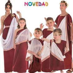 Carnival, Group Costumes, Romans