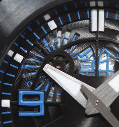 #chronowatchco Linde Weredelin Oktopus II Titanium Blue