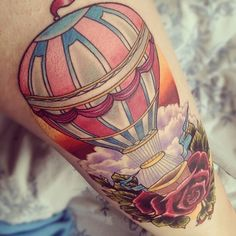 I want a hot air balloon tattoo so badly, you have no idea.
