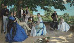Jusqu'au 20 janvier 2013, une exposition majestueuse au musée d'Orsay déploie les fastes de l'élégance au temps des impressionnistes.