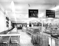 Sainsbury's first ever self-service store